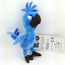 "Rio The Movie Plush Toy Tiago Baby Macaw Bird Son of Blu Jewel Stuffed Animal 5"""