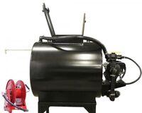 Asphalt Sealcoating Sprayer - 230 Gallons - 6.5 HP - Cast Iron Pump - 50 ft Hose