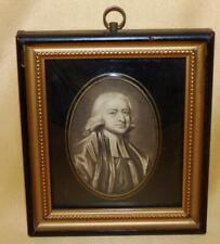 More details for john wesley methodist miniature engraving after george romney portrait of 1789