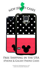 Disney Mickey Mouse Polka Dot Ears Apple, Samsung, LG, Google Pixel Phone Case