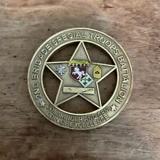 2nd Brigade Special Troops Battalion First In Lone Star Texas Challenge Coin