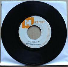 "CORNELL CAMPBELL Jah Forgive Me 45 7"" ROOTS REGGAE DANCEHALL Record Vinyl 1975"