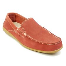 Rockport adiPRENE Mens size 7.5 Bennett Lane Cape Noble II Loafers Red Suede