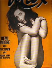 DEMI MOORE BAREFOOT German Max Magazine 11/93 WOODY ALLEN PC