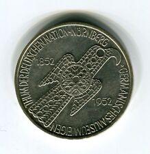 5 DM Silber 1952 Germanisches Museum original und echt (B8)