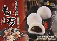 Royal Family Japanese Rice Cake Mochi Daifuku Red Bean, 7.4 Ounce