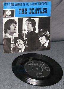 "BEATLES Single Holland 7"": We can work it out/ Day Tripper R 5389 Dutch RARE!"