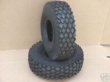 2 TIRES 410/350-5 FOR GO KART GO CART PARTS MINIBIKE
