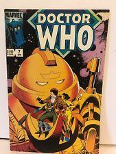 Doctor Who - Marvel comics 7 April 1985 - USA