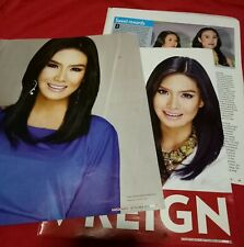 Erich Gonzales Magazine Cut Out with Andi and Empress