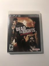 Sony PlayStation 3 PS3 Game Dead To Rights Retribution Complete Namco 2010