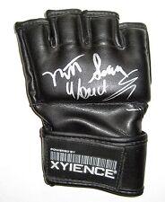 UFC MATT TERROR SERRA WANDERLAI SILVA GENUINE HAND SIGNED XYIENCE FIGHT GLOVE