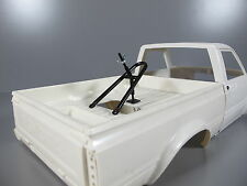 Bed Mount Spare Tire Rack for Tamiya RC 1/10 Ford F350 Hilux Clodbuster Tundra