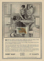 REPRINT PICTURE of old J L MOTT IRON WORKS ad 1908 COLONIAL BATH ROOM 5x7