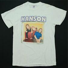 Rare Vtg Delta Hanson Brothers Tour 1997 T Shirt 90s Pop Rock Boy Band Promo M