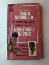 Nightmare in Pink John D. MacDonald 1st Edition 1st Print McGee See Photos