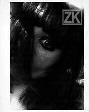 LUCIEN CLERGUE Visage Cheveux Gros plan Oeil Femme Portrait Photo 1976 #1