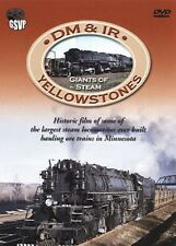 DM&IR Yellowstones Giants of Steam Greg Scholl DVD NEW