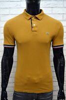 LACOSTE Uomo Maglia Polo Taglia 3 ( S ) Maglietta Camicia Shirt Men's Herrenhemd