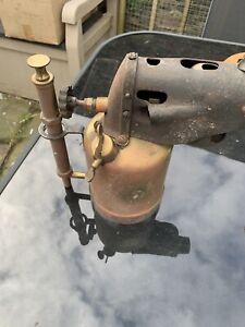 Rare Hovick Verk Norweigan Blow Tourch Lamp