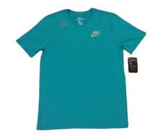 "Nike Run Dri-Fit Cotton Athletic Cut ""The Nike Tee� Teal Shirt Size L"