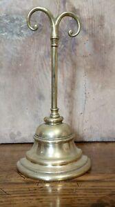 Antique English Brass Door Porter / Door Stop