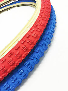 OLD SCHOOL BMX COMP 3 SKIN WALL TYRE 24 X 1.75 BY KENDA SOLD IN PAIRS