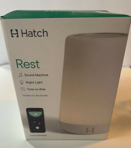 Hatch Baby Rest Sound Machine, Night Light and Time-to-Rise. New In Box