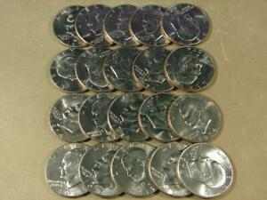 1974-D Eisenhower Dollar Uncirculated Roll Of 20 Coins