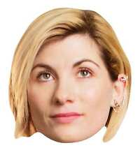 13th Doctor Who Jodie Whittaker Official Single 2D Card Party Face Mask