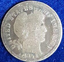 1893 Silver Barber Dime ID #99-12