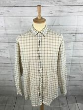 Men's ERMENEGILDO ZEGNA Linen Shirt - XL - Check - Great Condition