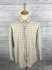 Men's ERMENEGILDO ZEGNA Linen Shirt - XL - Check - Great Condition