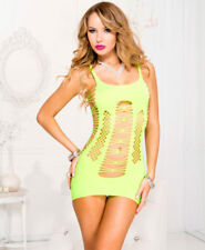 ML-6481 Sexy Gogo Dancer Rave Raver Wear Clubwear Strappy Green Mini Dress