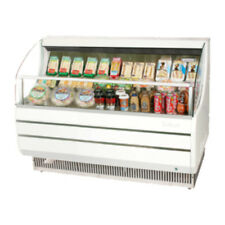 Turbo Air Tom-60Sw-N Open Display Case Cooler in White (Tom-60S)