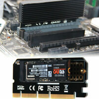 New M.2 NVMe SSD NGFF TO PCIE 3.0 X16 Adapter M Key Interface Card