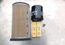 Service Kit Kawasaki ER 5, ER 500, Spark Plugs,Air/Oil Filter &  Sump Plug
