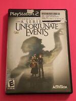 🔥 SONY PS2 PlayStation Two 💯 WORKING GAME 🔥 A SERIES OF UNFORTUNATE EVENTS