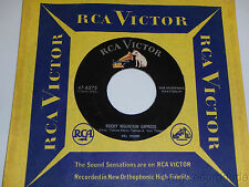DEL WOOD Rocky Mountain Express / Dream Train 45 RCA Victor 47-6275 VG+