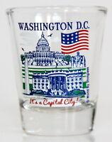 WASHINGTON DC USA GREAT AMERICAN CITIES COLLECTION SHOT GLASS SHOTGLASS