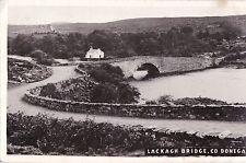 ki irish postcard ireland donegal lackagh bridge