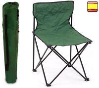 Silla para camping jardin pescador playa pesca DE director plegable