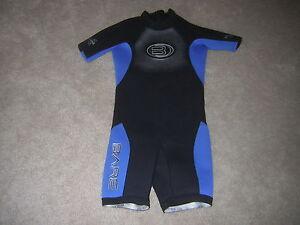 Bare Wetsuit Wet Suit Child Size Small Shorty Wet Suit