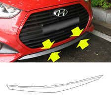865802V500 Front Bumper Lip Lower UNPAINTED For 2013 2015 Hyundai Veloster Turbo