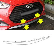 OEM 865802V500 Front Bumper Lip Lower UNPAINTED For 13-15 Hyundai Veloster Turbo