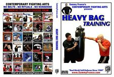 Heavy Bag Training Instructional DVD by Sammy Franco - Boxing, MMA, Self-Defense
