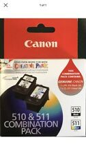 Genuine 510 Black And 511 Colour Duo Pack Inks