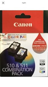 Genuine 510 Black And 511 Colour Duo Pack Inks.