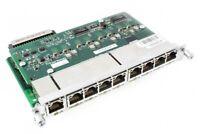 Used Cisco HWIC-D-9ESW-POE 9-Port Ethernet Switch HWIC