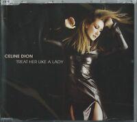 CELINE DION - TREAT HER LIKE A LADY 1999 UK ENHANCED CD SINGLE EPIC 667552 5
